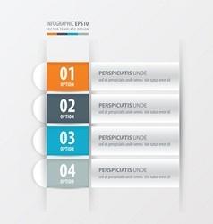 banner layout design Orange blue gray color vector image