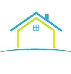 cool house vector image