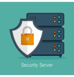 Security server protection technology vector