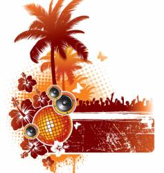 Tropical party vector