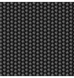 Carbon fiber texture seamless pattern vector image