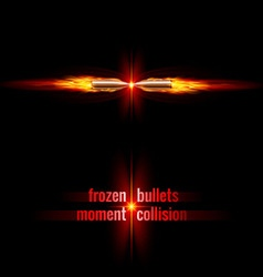 Bullets collision vector