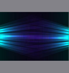 blue side spotlight abstract background vector image