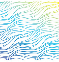 color wave background blue abstract sea texture vector image vector image