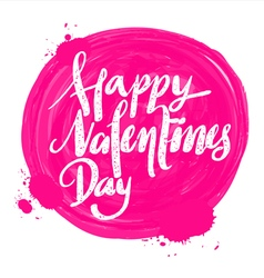 entines day word vector image vector image