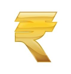 Rupee money financial item economy icon vector