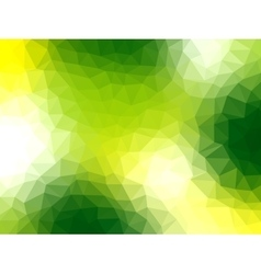 Polygonal background for webdesign - green colors vector