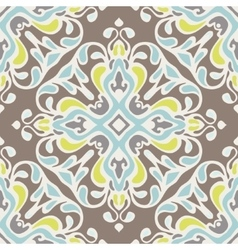 Abstract seamless ornamental pattern tiles vector