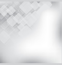abstract gray and white background technology vector image vector image