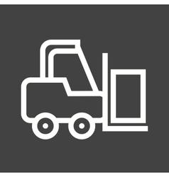 Forklifter vector image