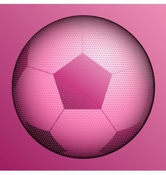 stylish conceptual digital soccer design vector image vector image