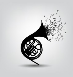 abstract music background for vector image