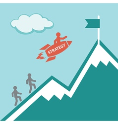 Strategy Business concept vector image