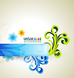 Floral artwork vector