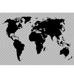 World map on the background vector