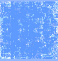 Blue painted grunge background vector