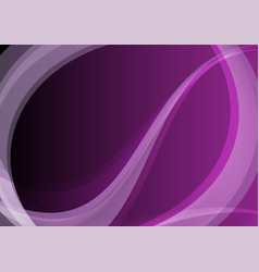 dark purple abstract waves bright background vector image