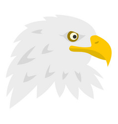 Eagle icon isolated vector