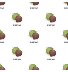 Chestnutdifferent kinds of nuts single icon in vector