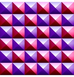 Colorful pyramids seamless vetor pattern vector