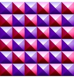 Colorful pyramids seamless vetor pattern vector