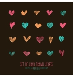 Design elements for valentine day vector