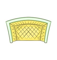 Football goal icon cartoon style vector