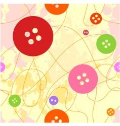 Button seamless vector