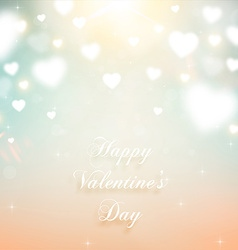 Romantic Valentines Background vector image