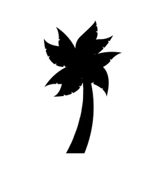 Tree palm isolated icon design vector