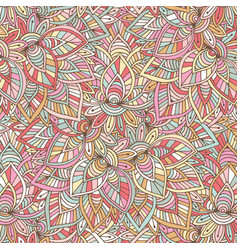 ornamental indian pattern eastern background for vector image vector image
