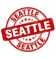 seattle stamp vector image
