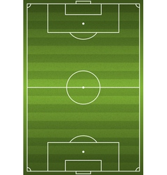 Soccer football field vector