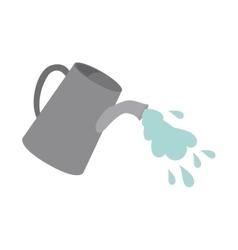 Watering can design vector
