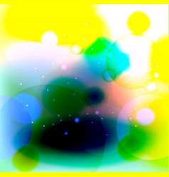 green and yellow abstract background vector image