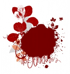 Ink splatter vector