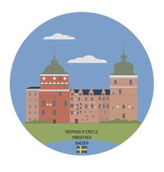 Gripsholm castle vector image vector image