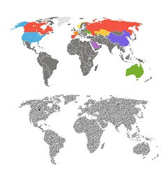 maps vector image