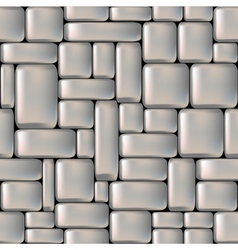 Stone seamless background vector