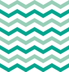 Wide emerald chevron vector