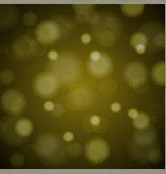 Abstract blured background of tender golden shiny vector
