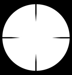 Telescopic Sight vector image