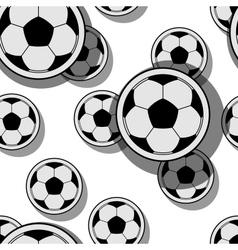 football balls vector image
