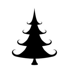 Pine tree icon image vector