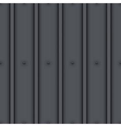 Metal roof seamless pattern vector image