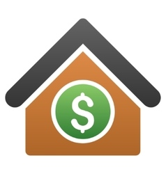 Room price gradient icon vector