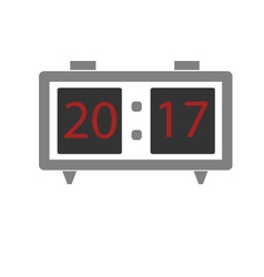 Clock a clock watch digital clock vector
