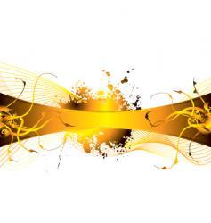 floral burn vector image