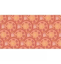 Grapefruit pattern vector