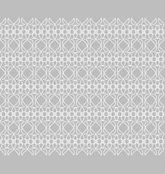 pattern gray ornamental seamless vintage pattern vector image vector image